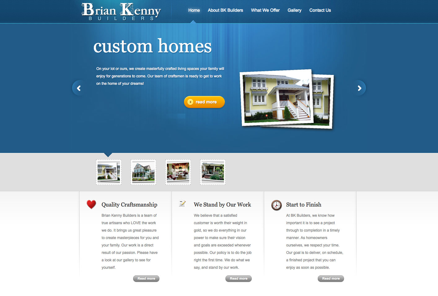 Brian Kenny Website