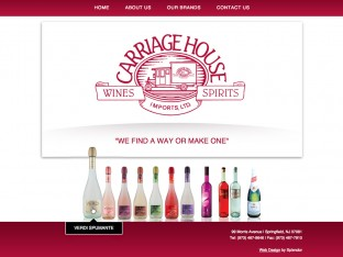 Liquor Web Design