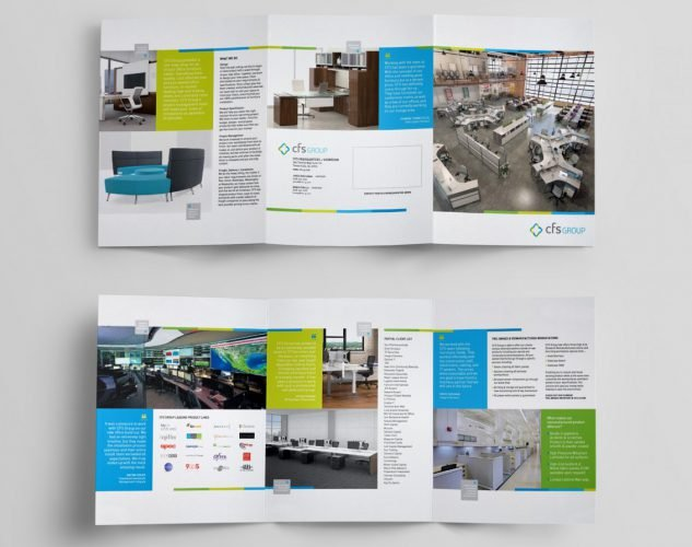 cfs group Brochure Design NJ
