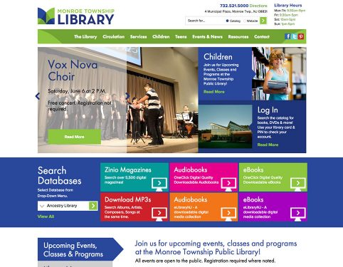 Library Web Design