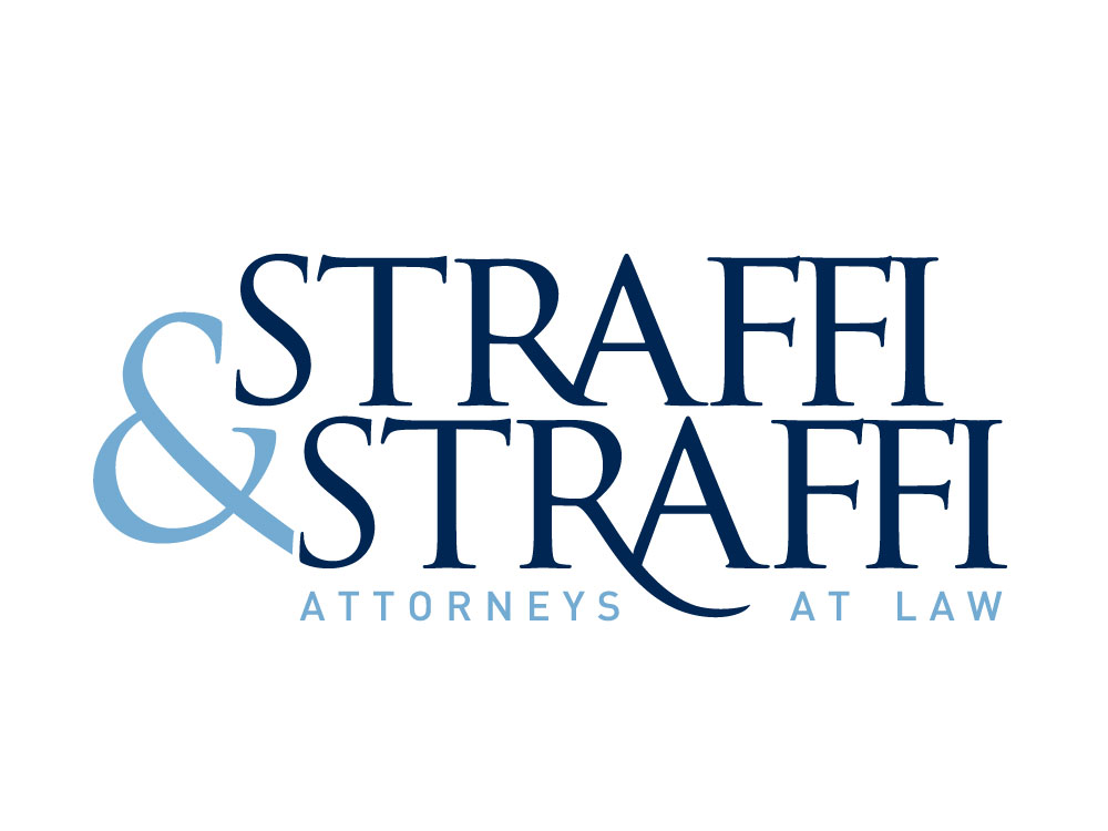 Straffi and Straffi Lawyer Logo Design.