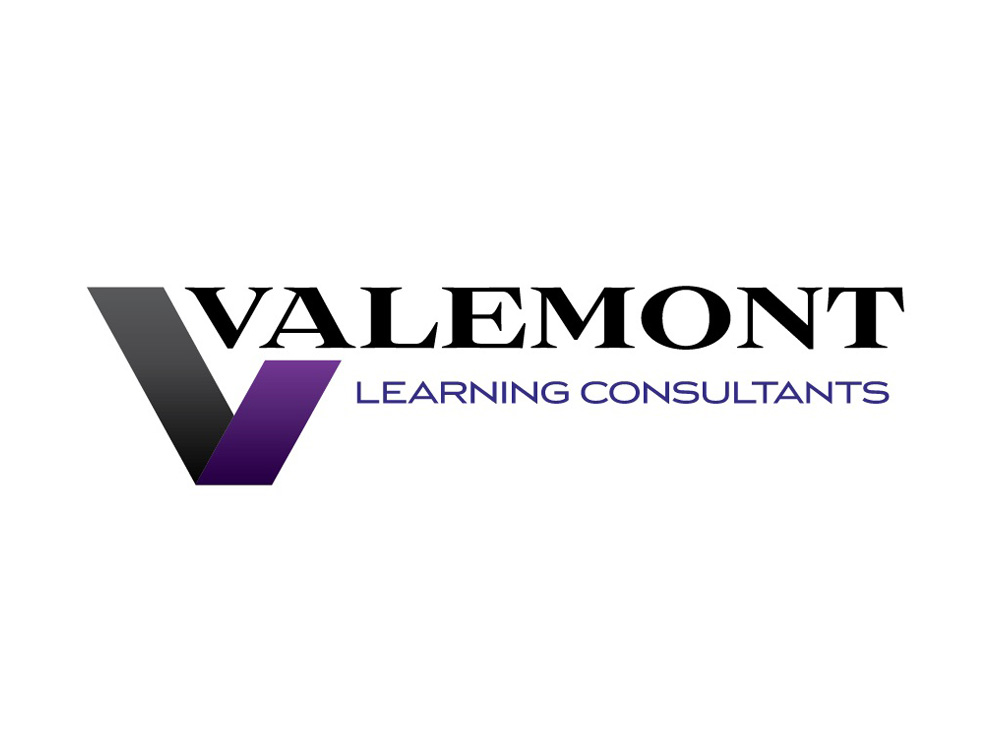 Valemont Learning Consultants Logo Design.
