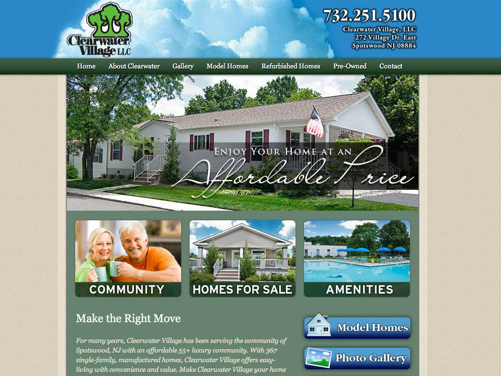 Senior Living Website