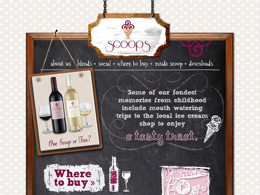 Wine Brand Web Design