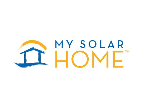 My Solar Home Logo Design