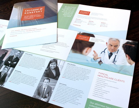 CK Harris Lawyer Brochure Design NJ