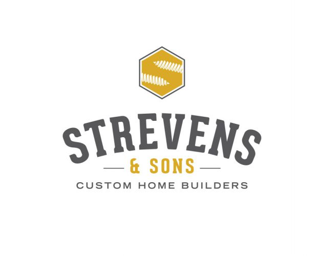 Strevens and Sons logo Home Builder Logo