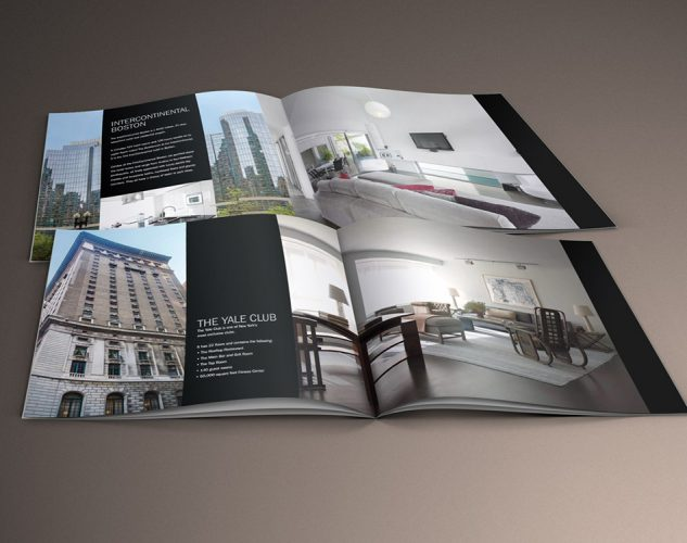 Bacc Builders Construction Print Brochure Design.