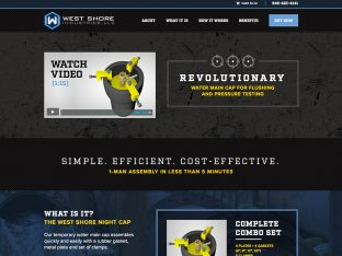 industrial web design