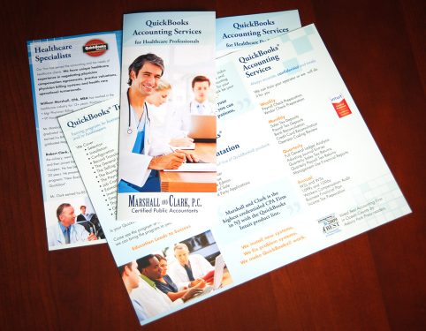 Accounting Brochure Design
