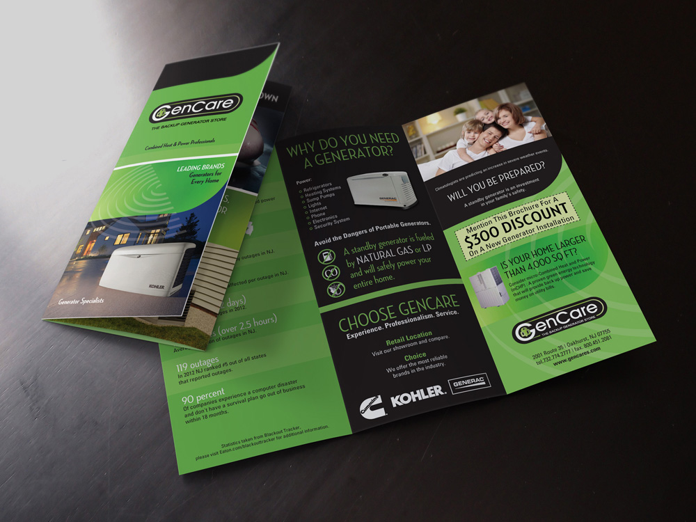 NJ Brochure Design