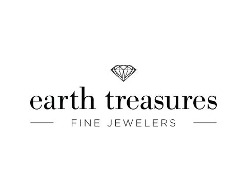 earth treasures fine jewelers logo design