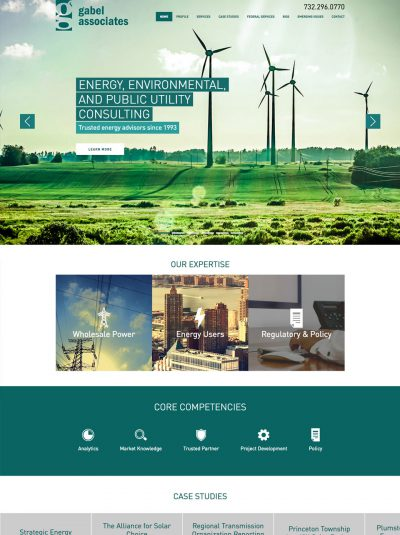 environmental consulting website