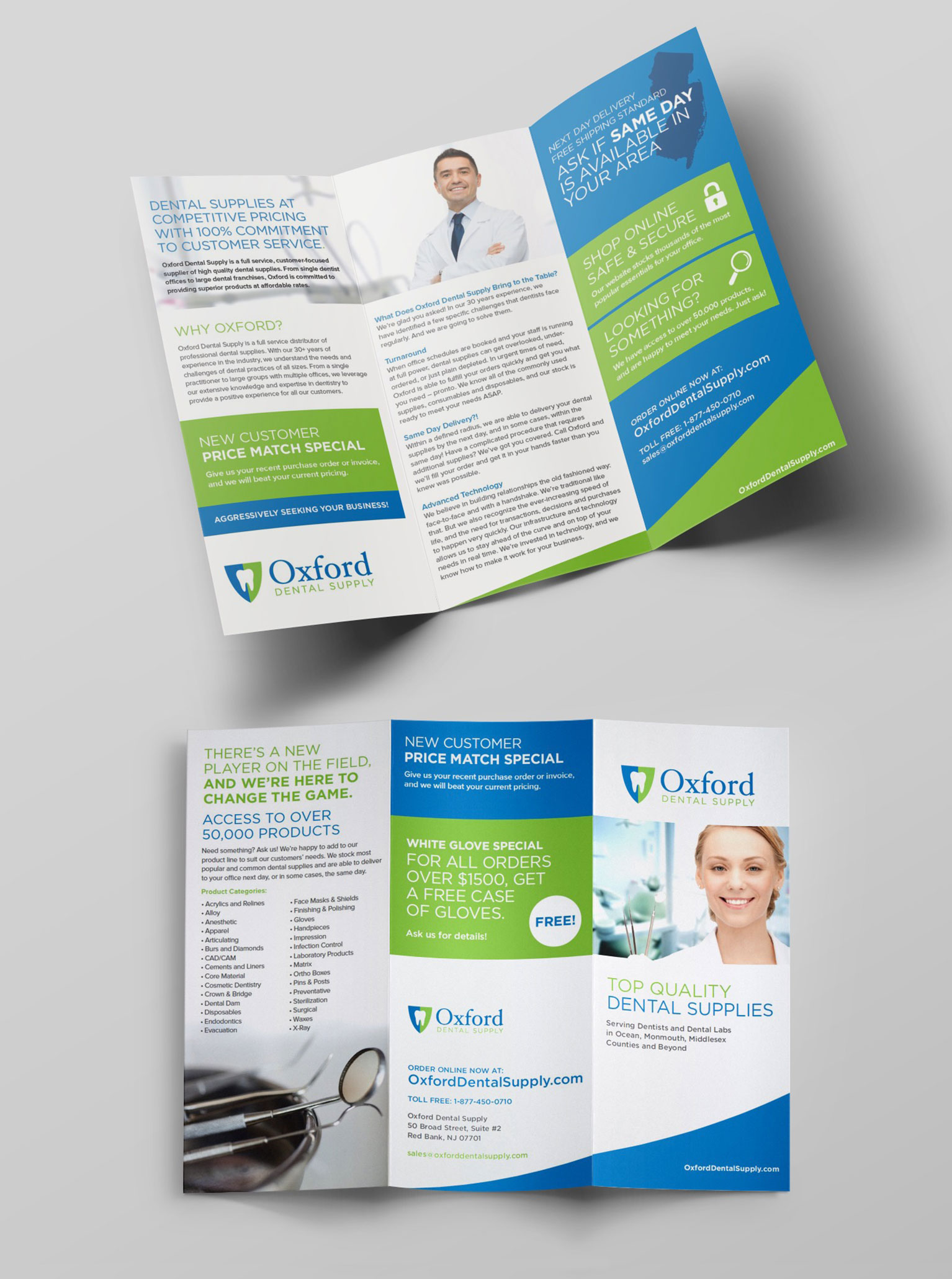 dental brochure design