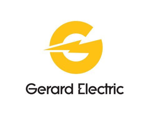 gerard electric logo design.