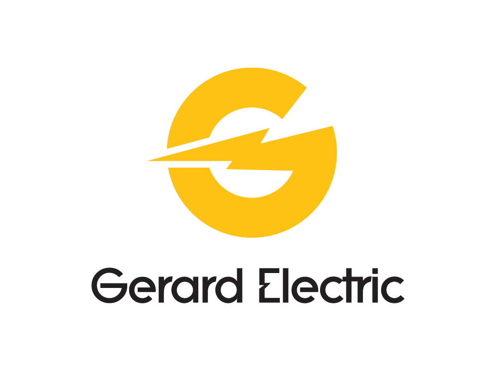 Electric company logo design images for Design firm
