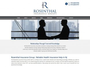 Rosenthal Insurance Website