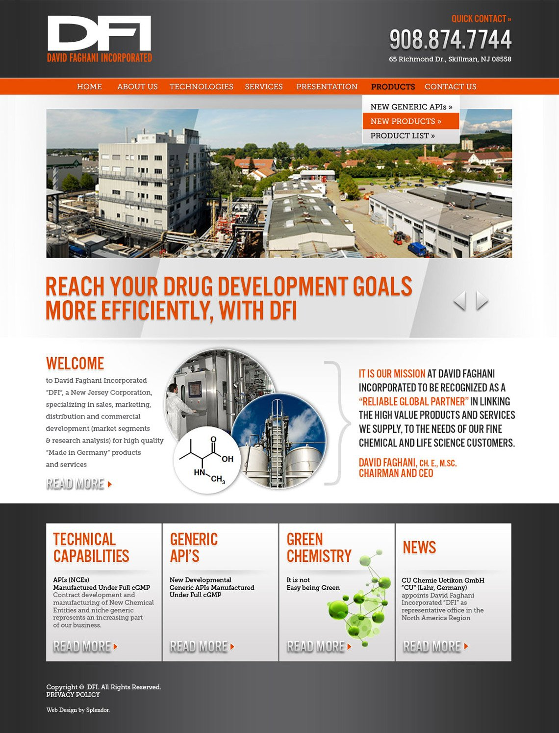 Pharmaceutical Web Design
