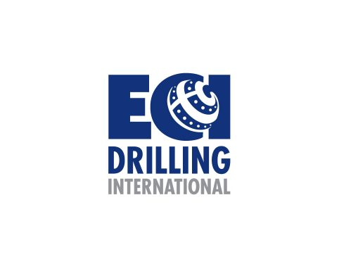 ECI Drilling International Construction Logo Design.
