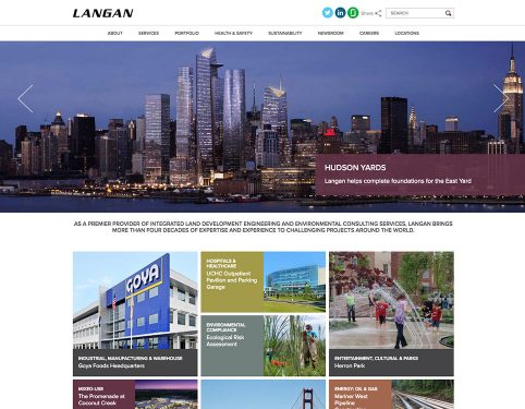Langan Engineering Website.