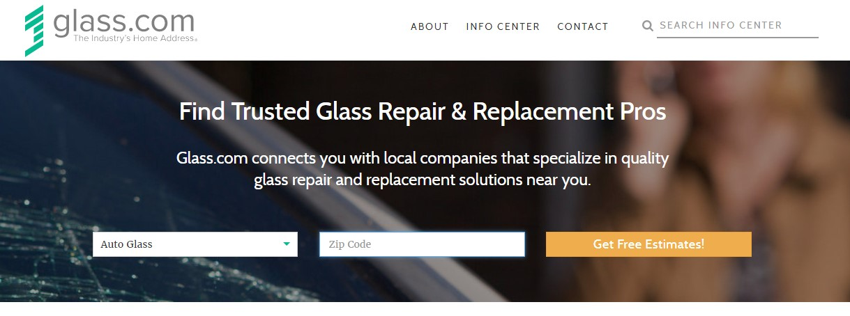 glass repair services detailed content writing