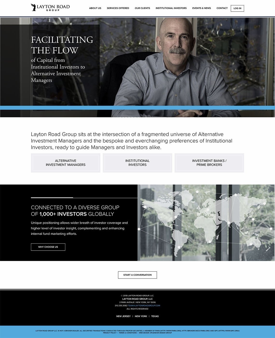 Layton Road Group Professional Business Website.