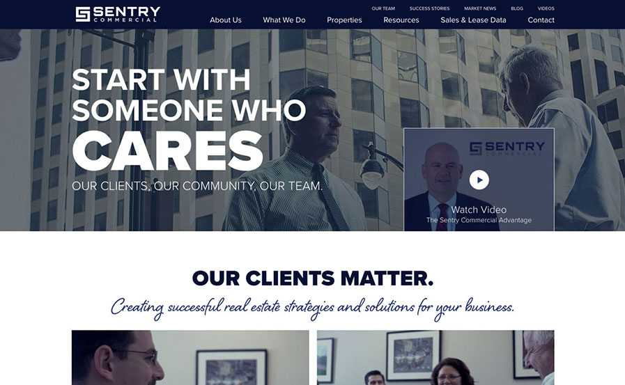 sentry commrecial real estate
