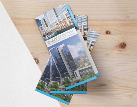 sjp properties cre brochure design.