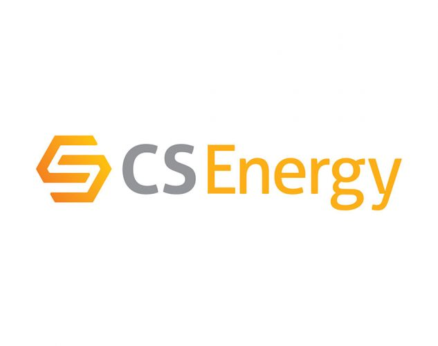 cs energy conti solar logo design.
