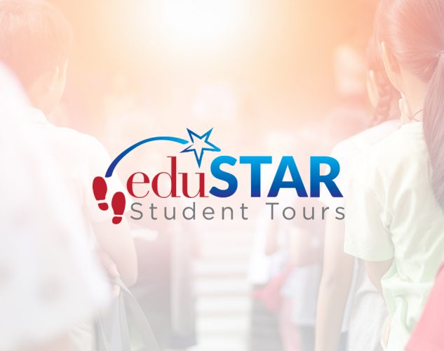 edustar students tours logo design