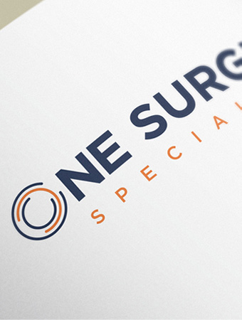 one surgical logo design