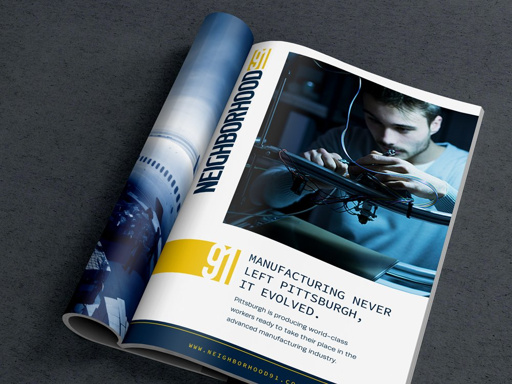 Neighborhood 91 Brochure Mockup