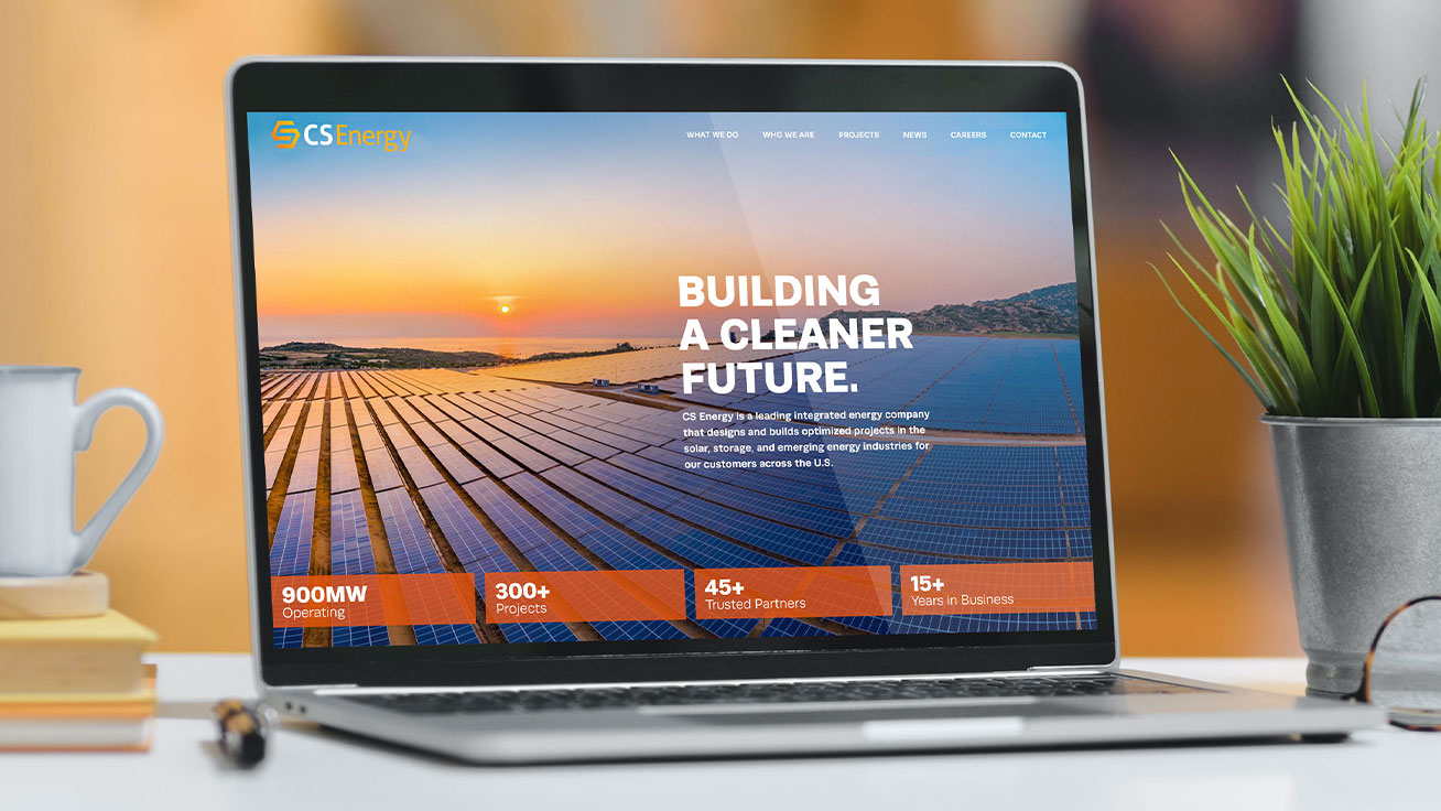 cs energy web site solar