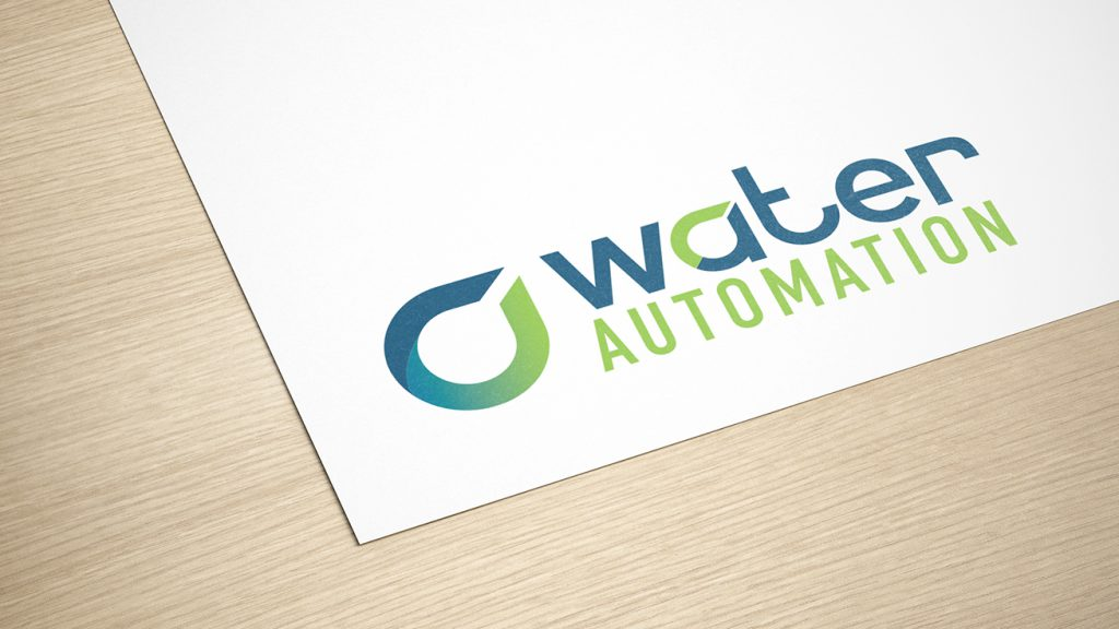 water automation logo design