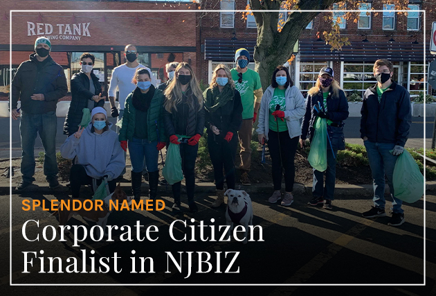 Splendor Named Corporate Citizens Finalist in NJBIZ