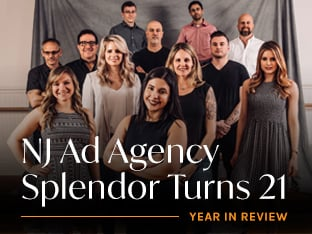 NJ Ad Agency Splendor Turns 21 - Accomplishes Game-Changing Milestones in 2021
