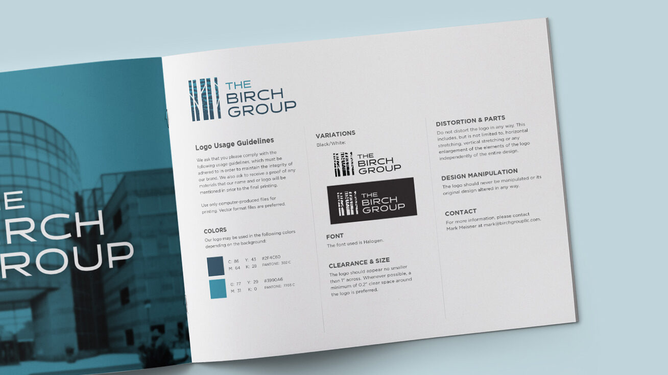 The birch group brand guidelines